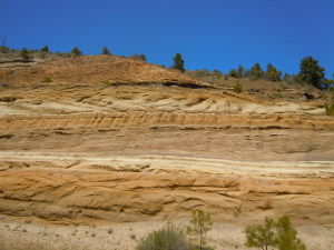 Layers of soil and time. eastern Oregon