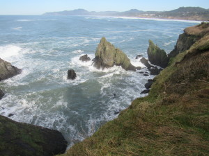 Oregon Coast at Newport